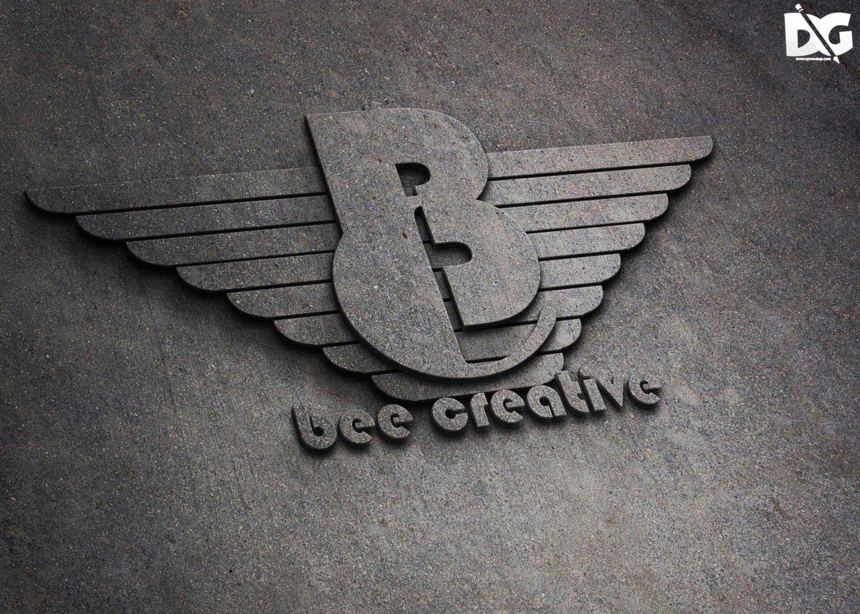 Wings Logo Mockup