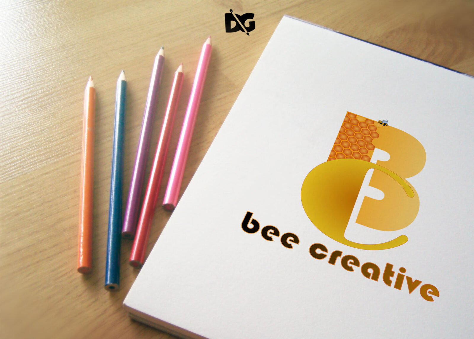 Stationery Logo Mockup