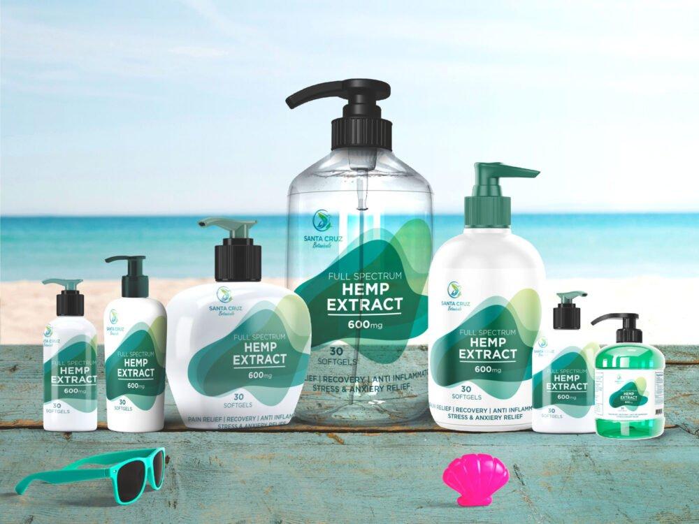 Clean Soap Bottle Branding Mock-Up