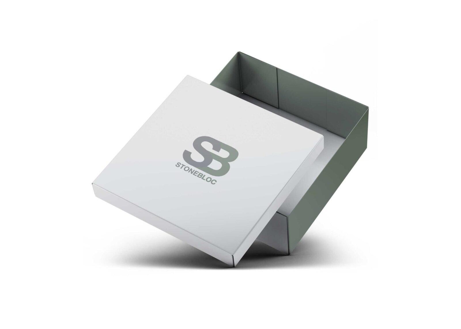 Fantastic Small Shoes Box Packaging Mockup