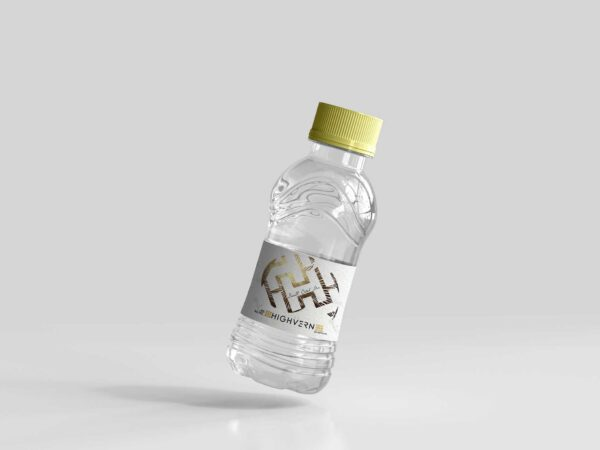 Clean Mineral Water Bottle Psd Mockup