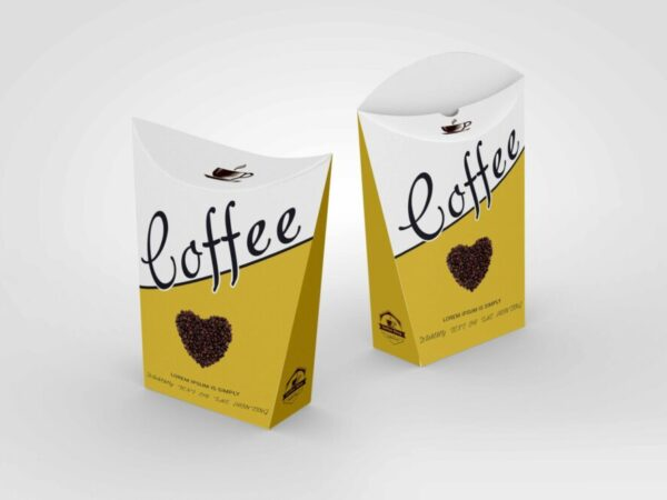 Small Food Packaging Pouch Label Mockup