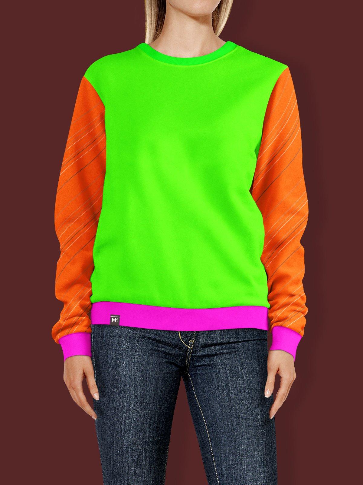 Colorful Sweat Shirt Mockup