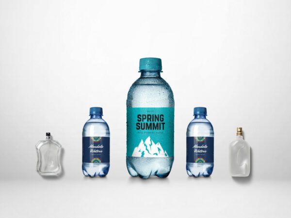 Spring Summit Bottle Label Mockup
