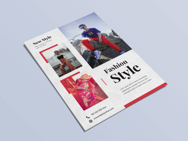 Fashion Style Flyer Template