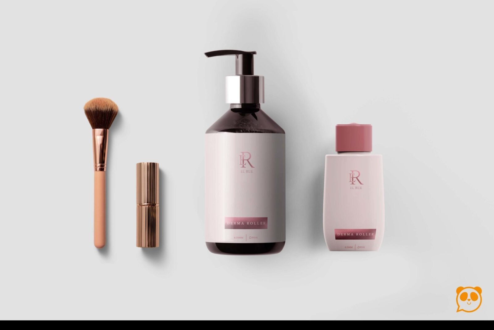 Modern Cosmetic Label Mockup