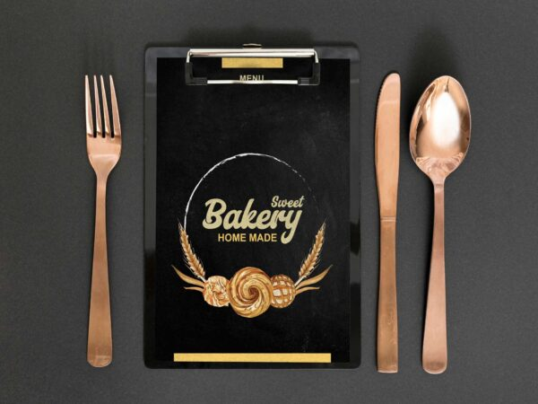 Cookie Bakery Menu Design Templates